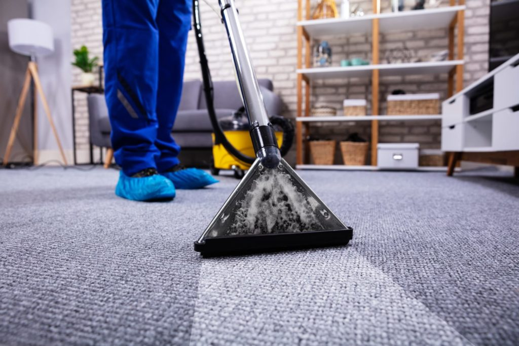 Floor cleaning goes beyond spotless carpet cleaning, but it helps.
