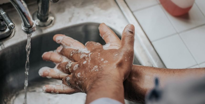 Believ it or not, there is a right and wrong method for washing your hands